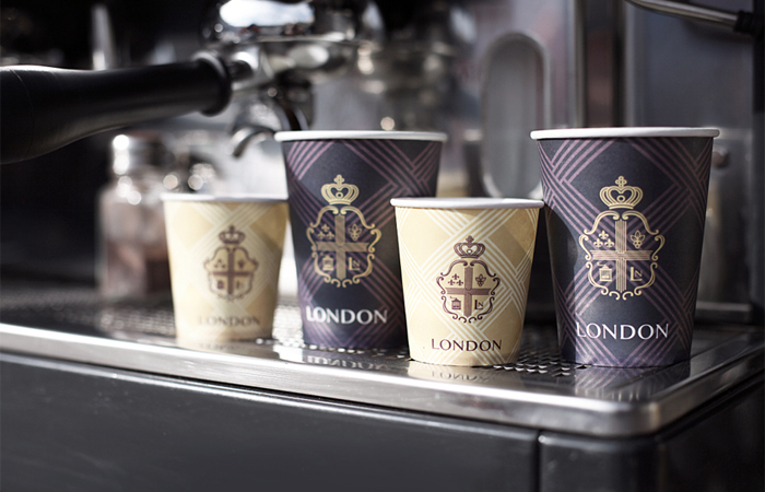 Coffee House London Luxury Coffee Packaging