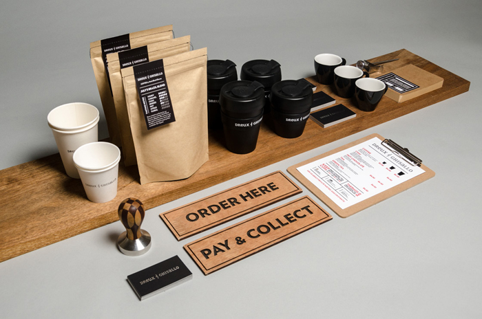 Dreux and Ghisallo Coffee Branding and Packaging Design