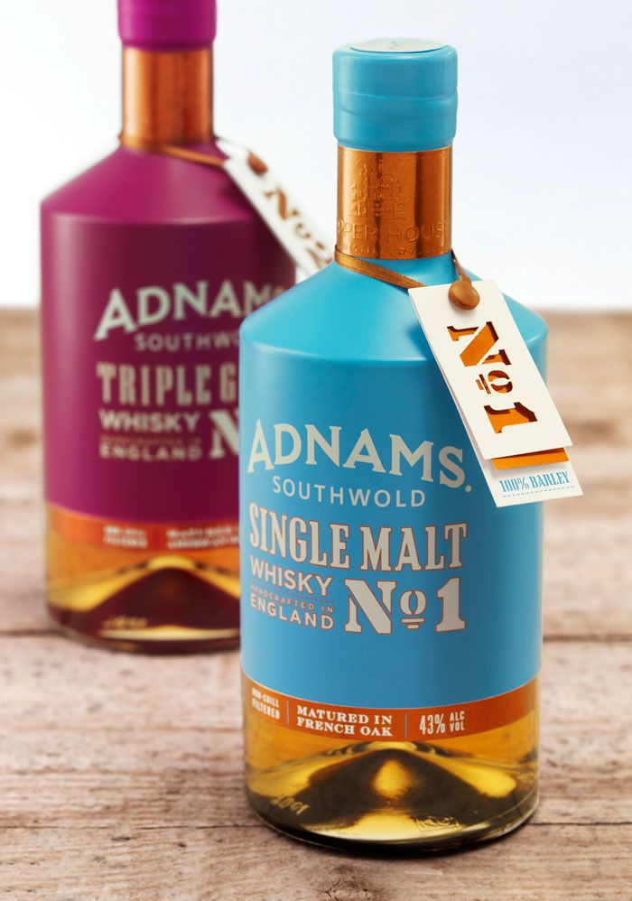 Adnams Whiskey Packaging Design