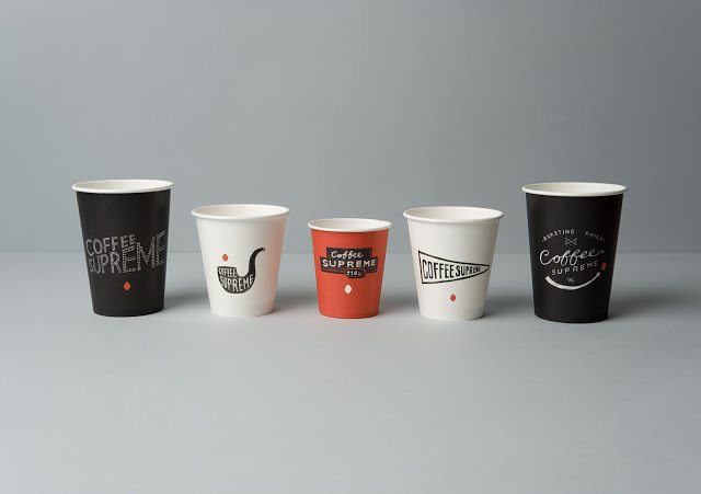 Coffee supreme packaging and branding