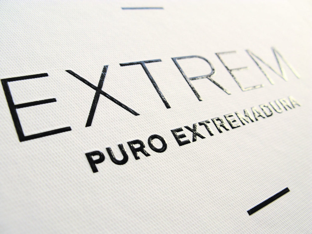 Extrem Puro Extremadura branding