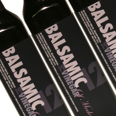 New Food label designs for Balsamic Vinegar