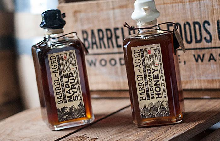 Barrelhead foods, Maple Syrup Packaging Design