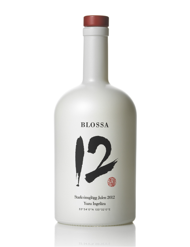 Packaging Design for Blossa Mulled Wine