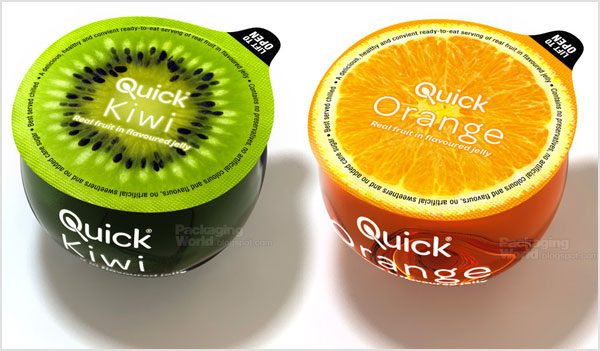 Quick Jelly clever packaging design