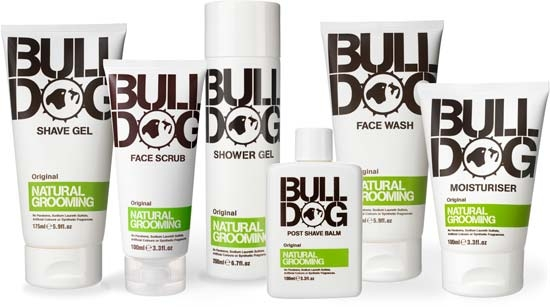 Bulldog Natural Skincare Mens Grooming Product Packaging