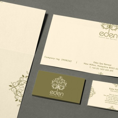 Corporate identity and logo design for company stationery