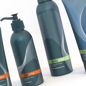 Mens skincare packaging mockups for Marks and Spencer