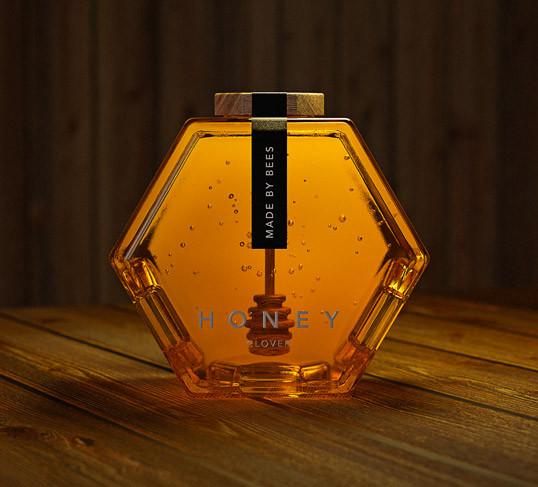 hexagon-honey-packaging
