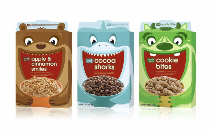 Packaging Design For Kids Cereal