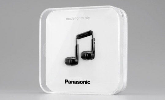 Panasonics more refined clever packaging design