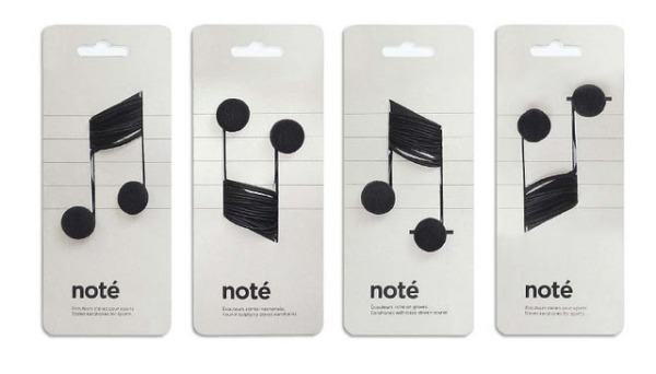 Student concept packaging for headphones