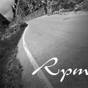 Brand logo, Branding and identity design for Rpm90 cycling tours.