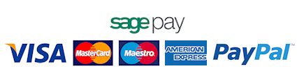 Sagepat, Paypal and Credit card Logos to be Added to your Website Design