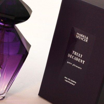 Design experts created new branding and packaging designs for Marks and Spencer fragrance