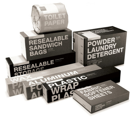 typographic packaging design