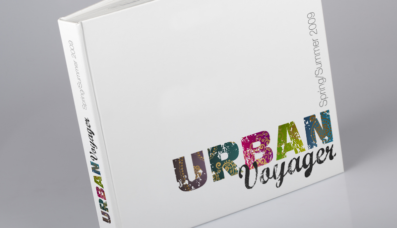 Urban Voyager Creative Catalogue Design