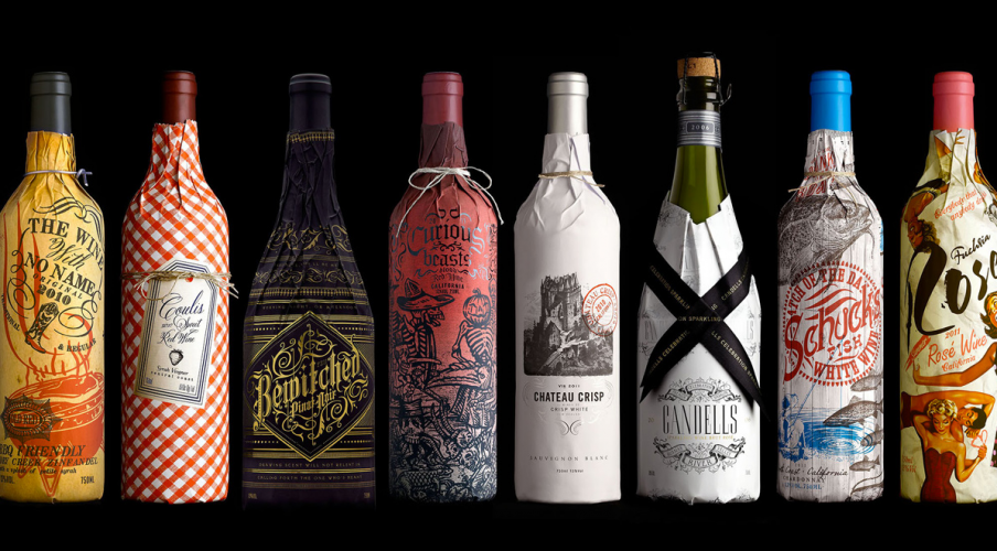 creative wine packaging to add texture and engage consumers