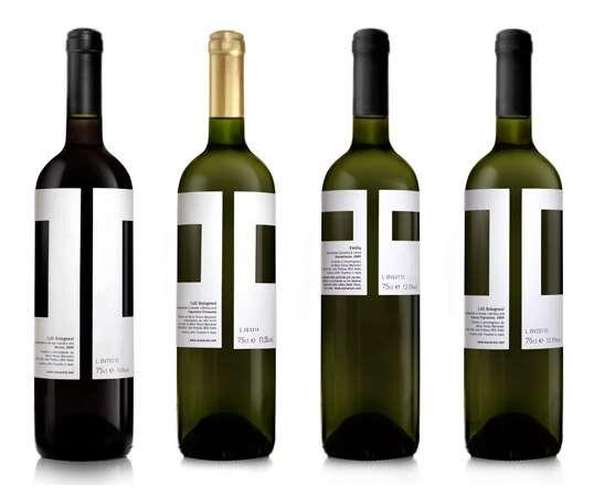 Art Inspired Wine label design for Mansaresi Winerery