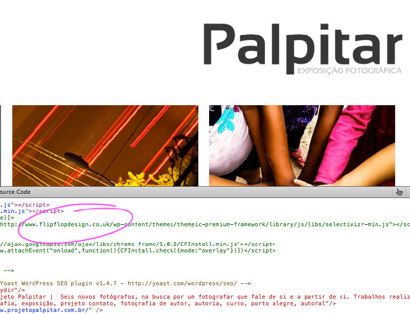 Palpitar's source code shows the original flipflop design code which it was copied from