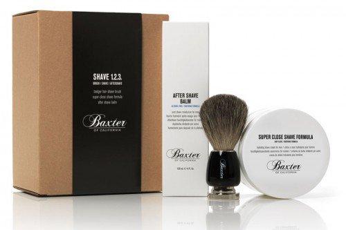 Packaging Design for Baxter Shave Kit