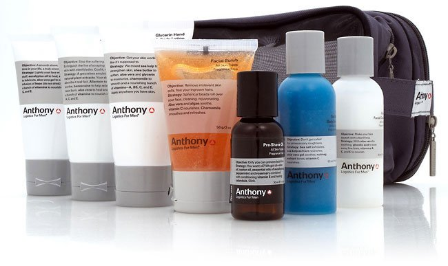 Packaging Design for Anthony Logistics Mens Grooming Products