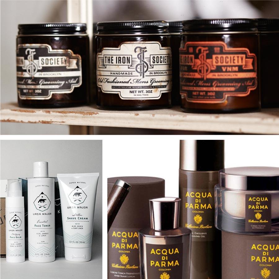 Mens Grooming Packaging & Brand design - Flipflop Design Agency