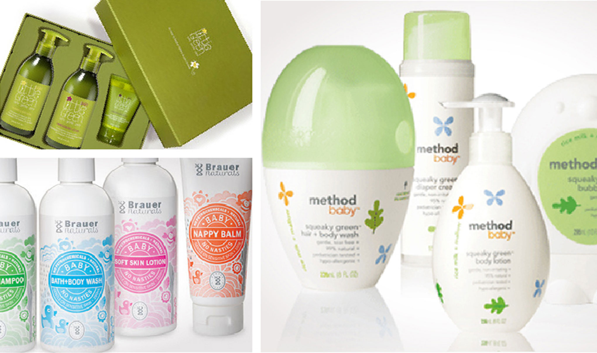 Baby skincare product packaging branding packaging for Products to design