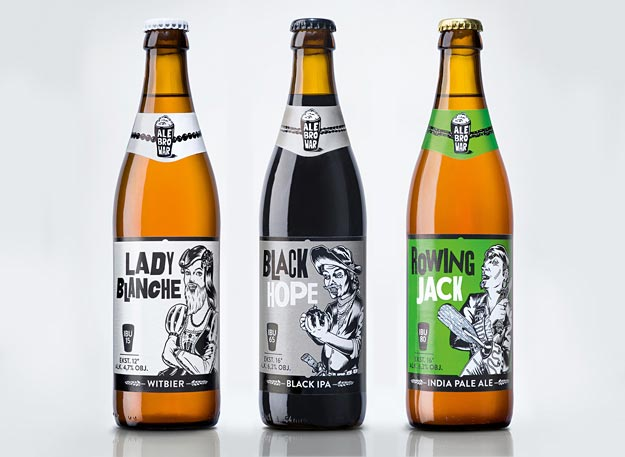Craft Beer Design for AleBrowar Brewery