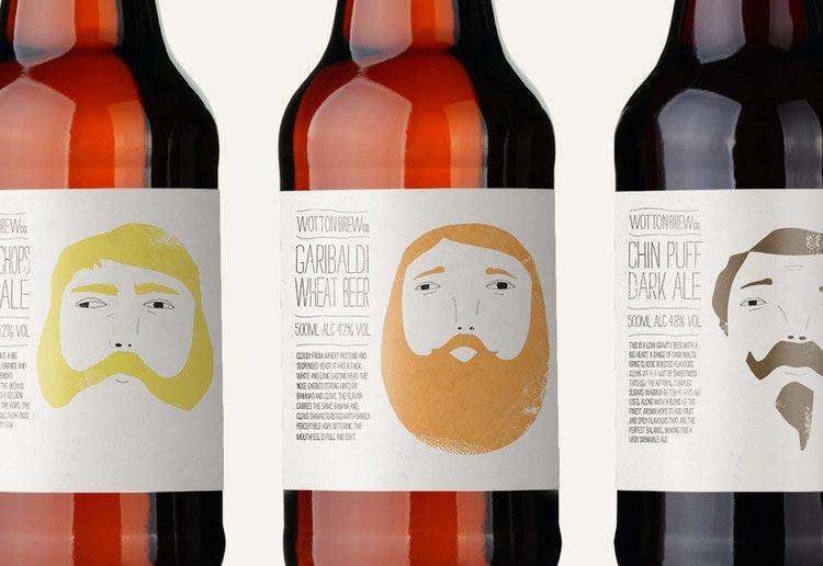 Wotton Brewery Craft beer Packaging
