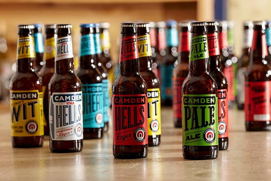 Camden Town Brewery Bottle Packaging Design