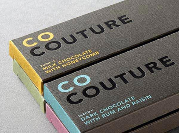 Luxury Packaging Design of Co Couture Chocolate