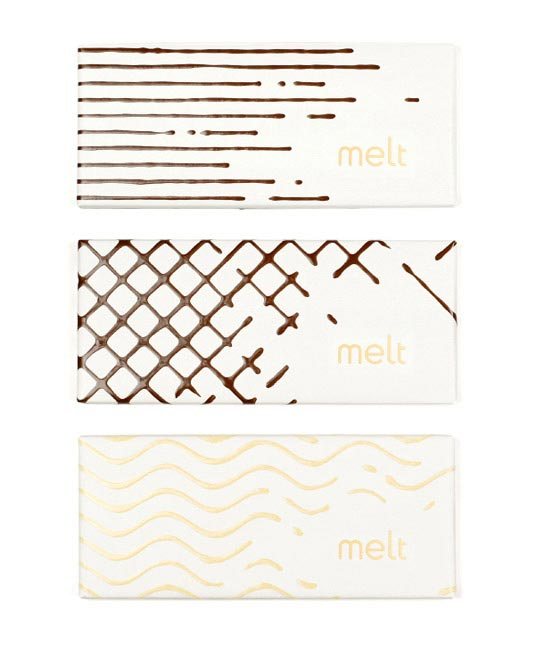 Melt in the Mouth Chocolate Packaging Designs. Melt.