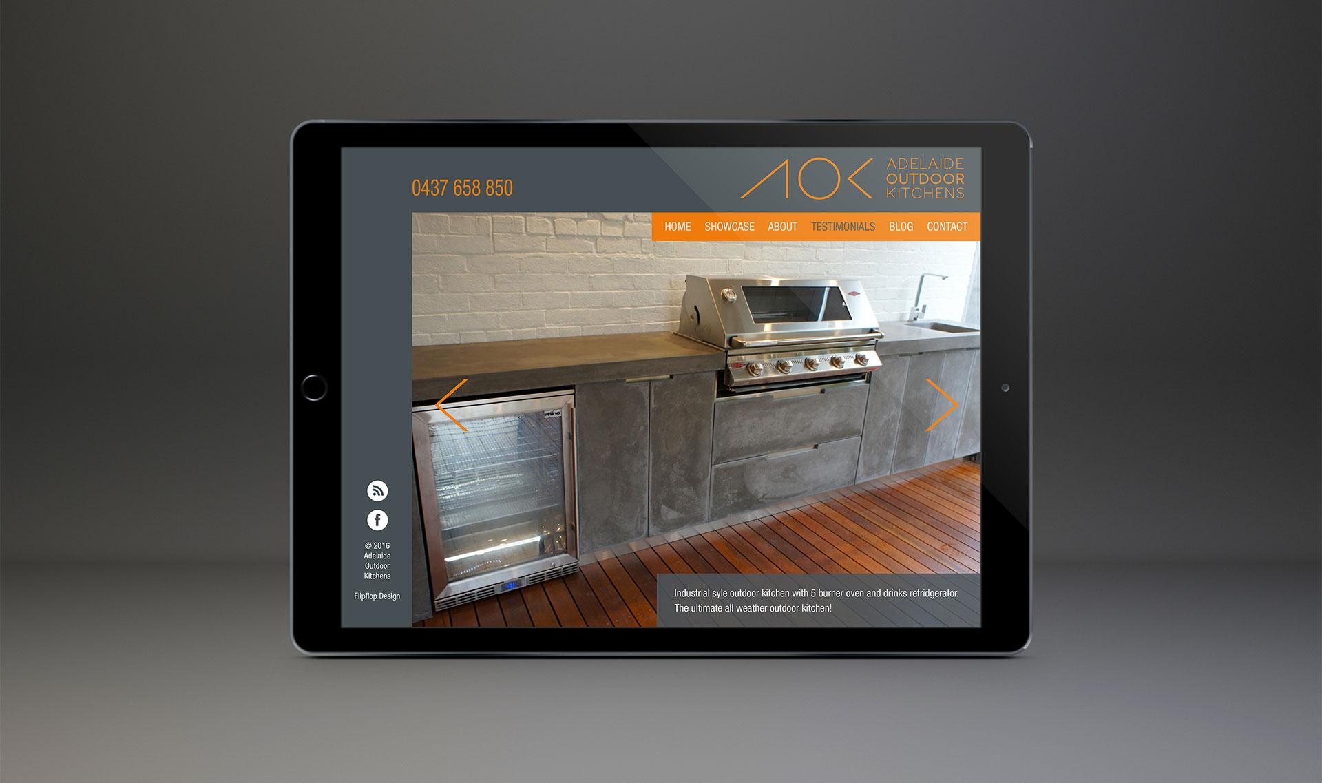 Website Design Home Page - Brand Design and website Design - Flipflop Design Agency
