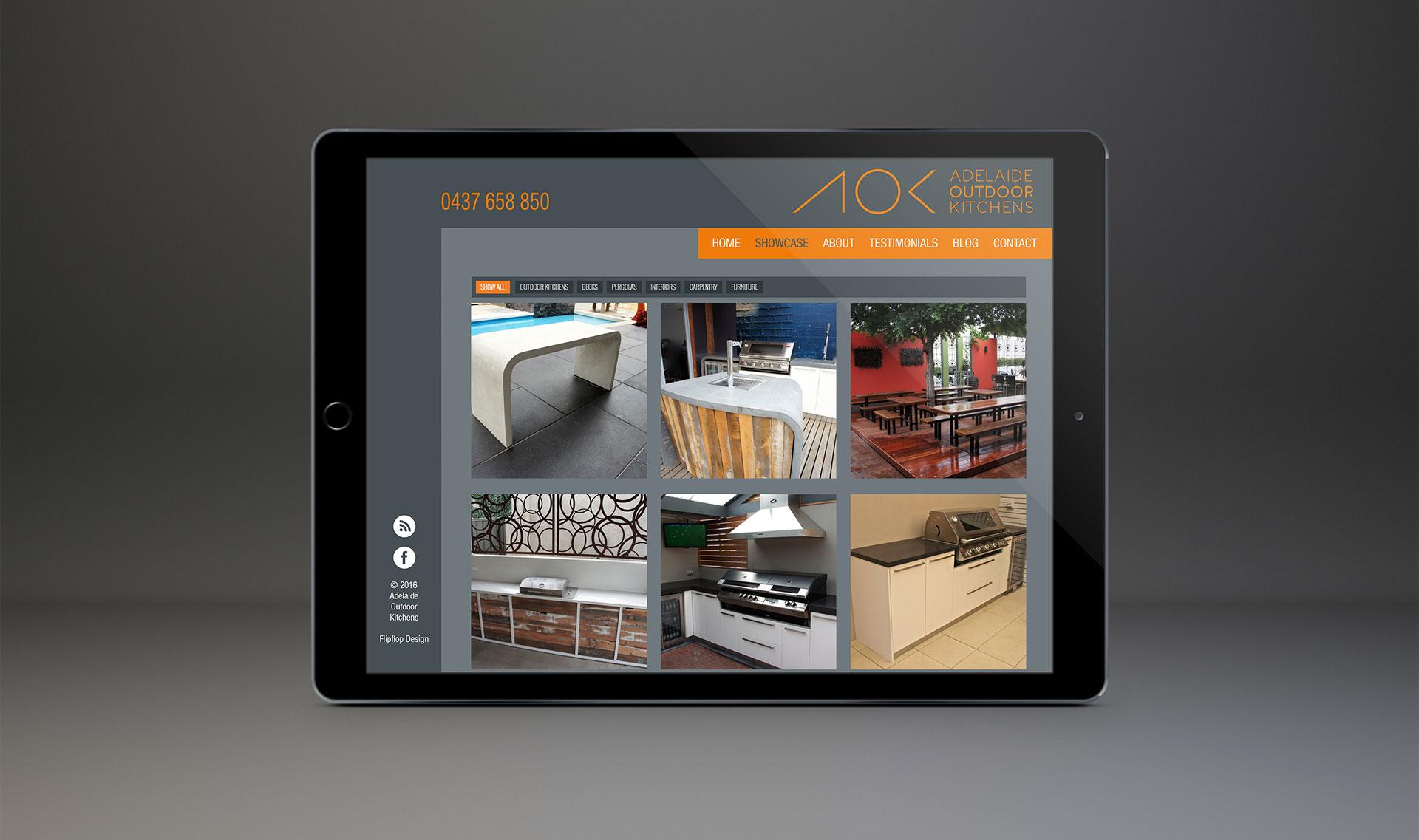 Website Design Portfolio Page - Brand Design and website Design - Flipflop Design Agency