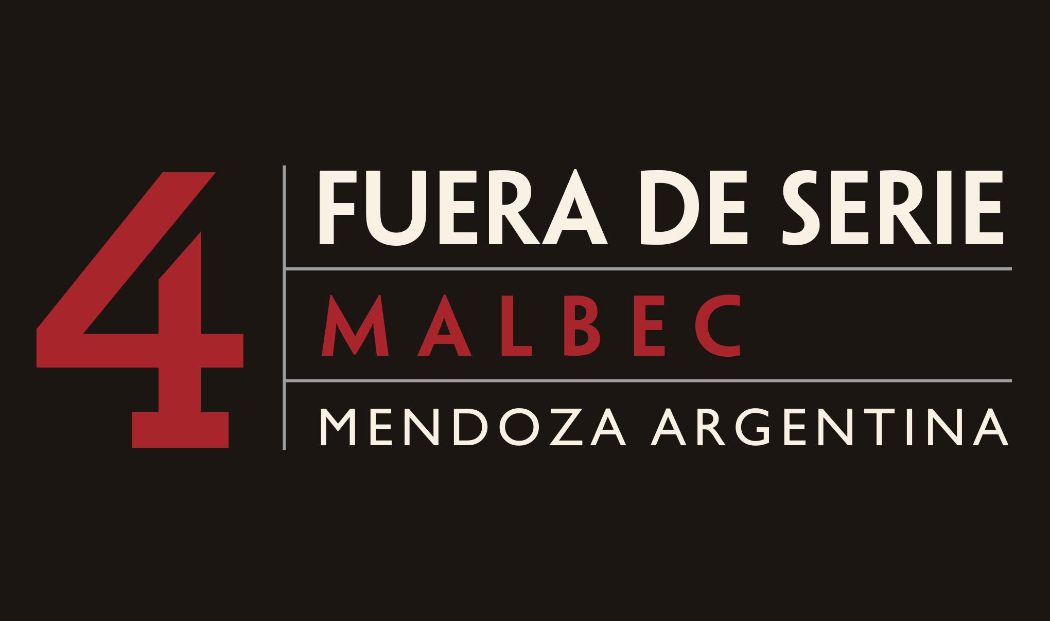 Fuera De Serie wine label tab - Malbec