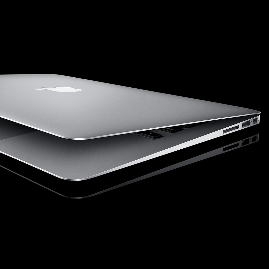 Apple macbook pro representing Flipflop Designs copy writing services