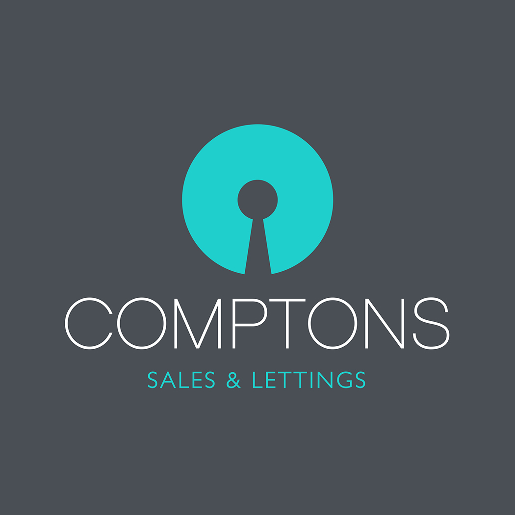 Compton's logo created by brand & packaging design agency, Flipflop Design