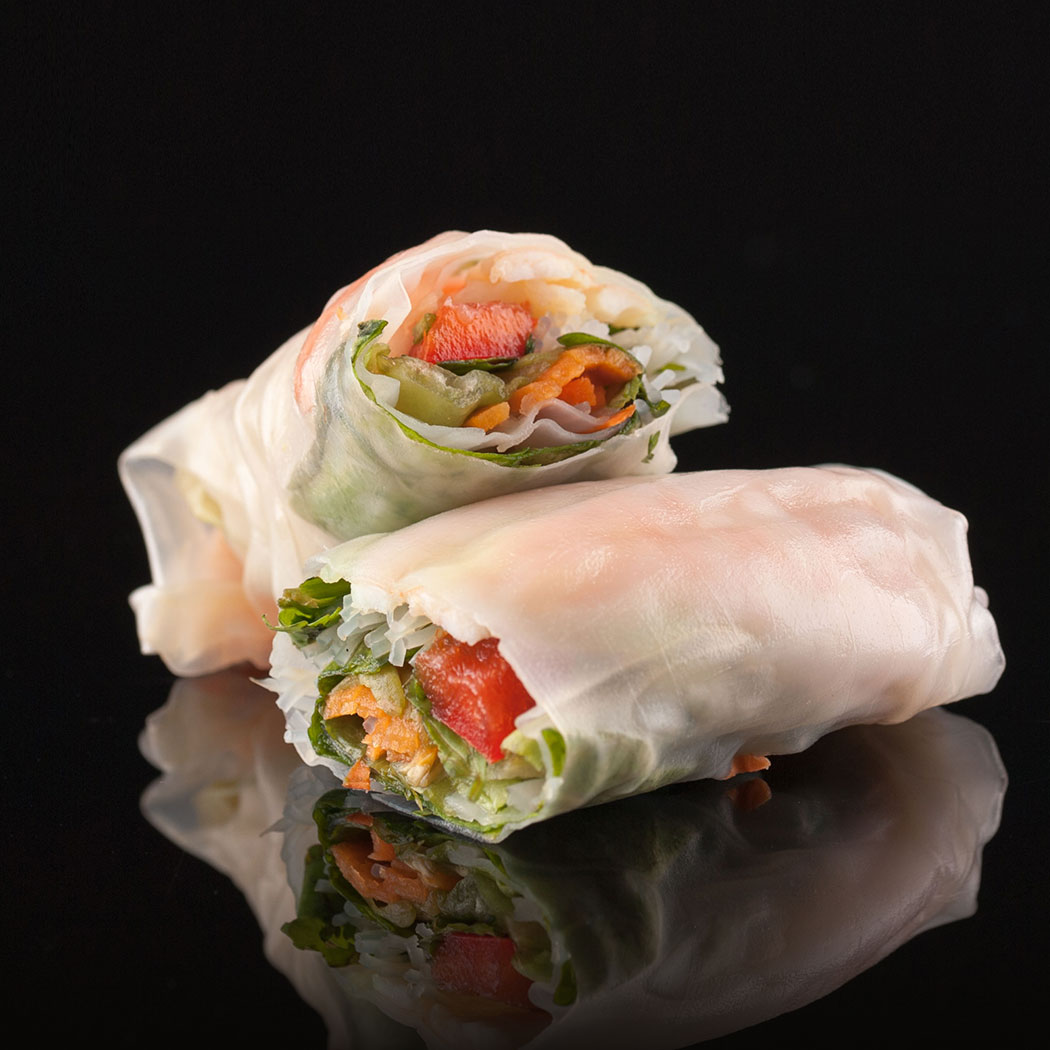 Food Photography. Image shows product photography of sushi wrap. © Flipflop Design Ltd. 2017