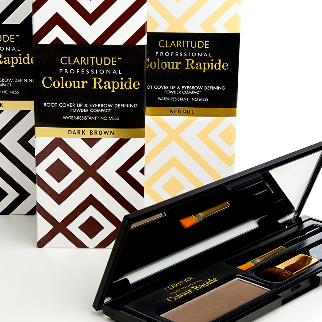 Packaging Design for Claritude Root Touch-up