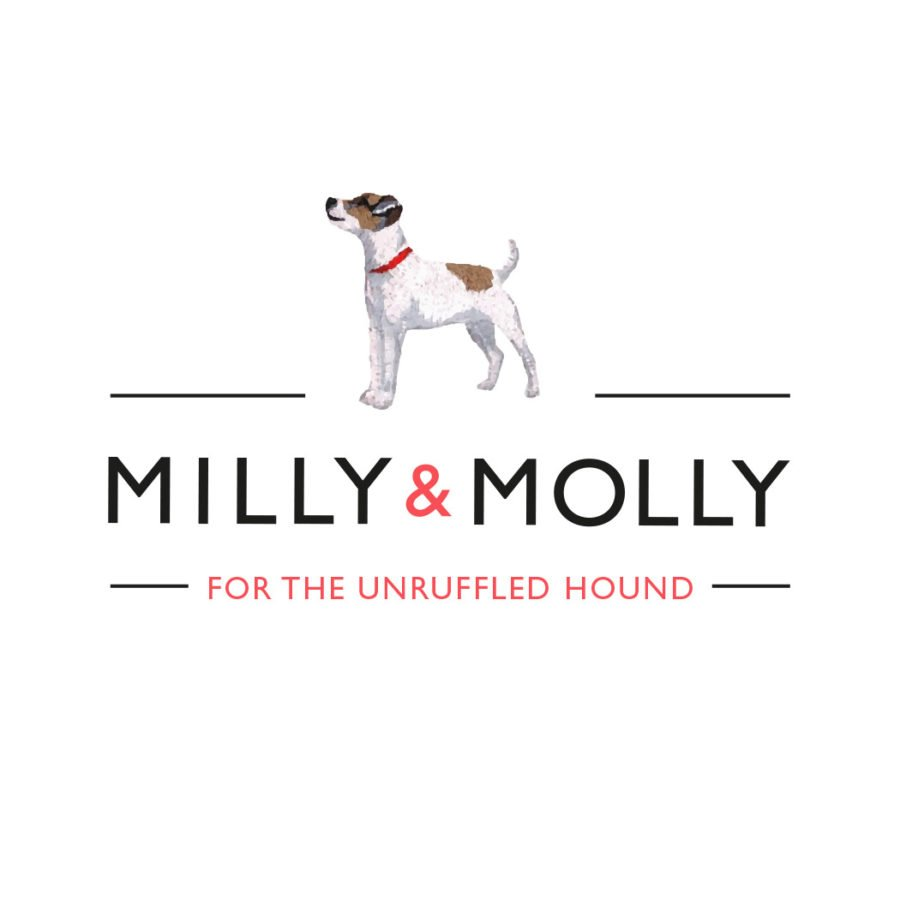 Brand identity design. New brand logo for MILLY & MOLLY - Flipflop Design