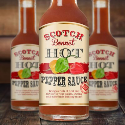 Hot Pepper Sauce Food Packaging Design. Flipflop Design.