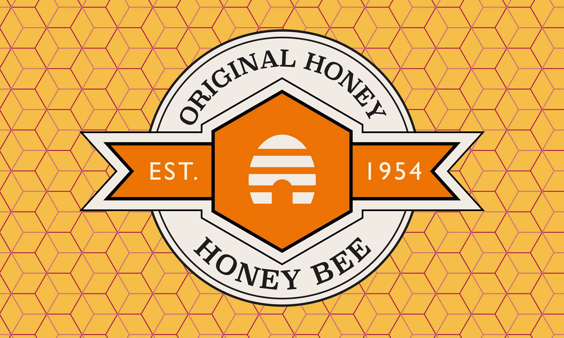 Brand logo for Nulon Honey Bee. Packaging design company - Flipflop Design