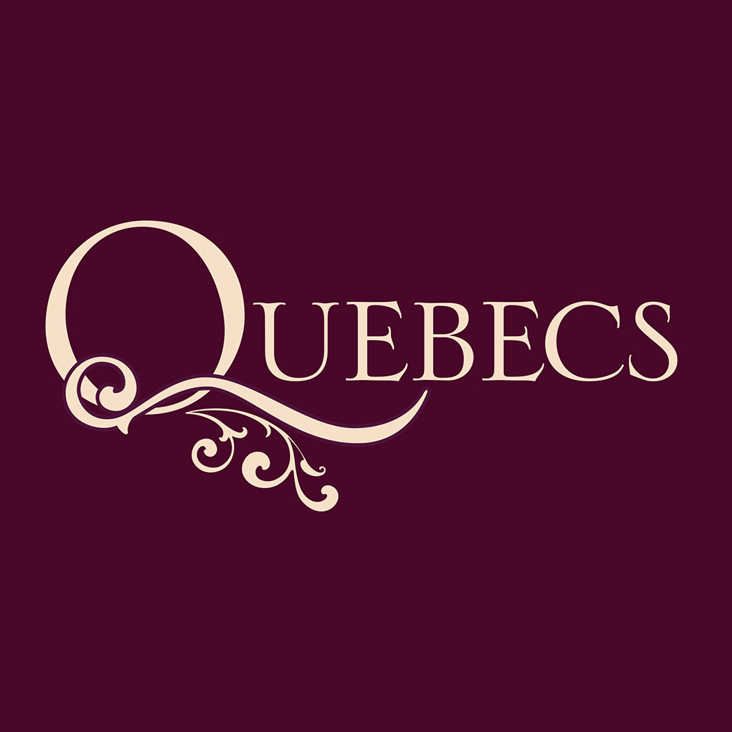 Identity design for Quebecs Hotel, Leeds. By Flipflop Design branding and packaging design agency