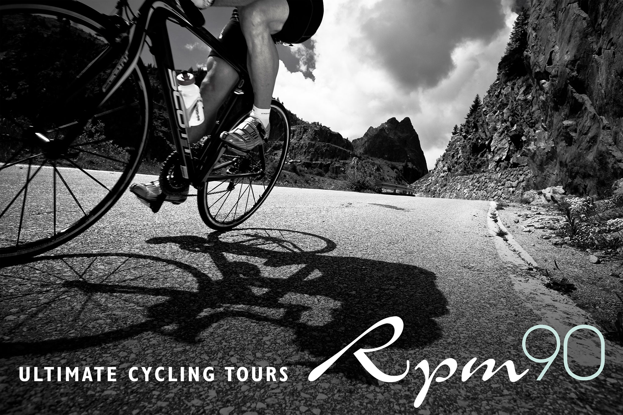 Branding for RPM90 Ultimate Cycling Tours