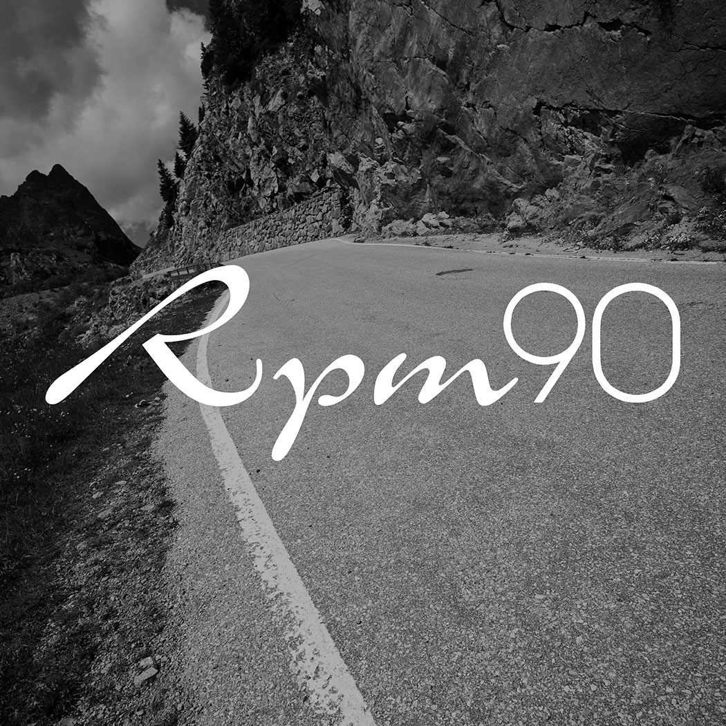 Retro Brand logo for RPM90 Ultimate Cycling Tours