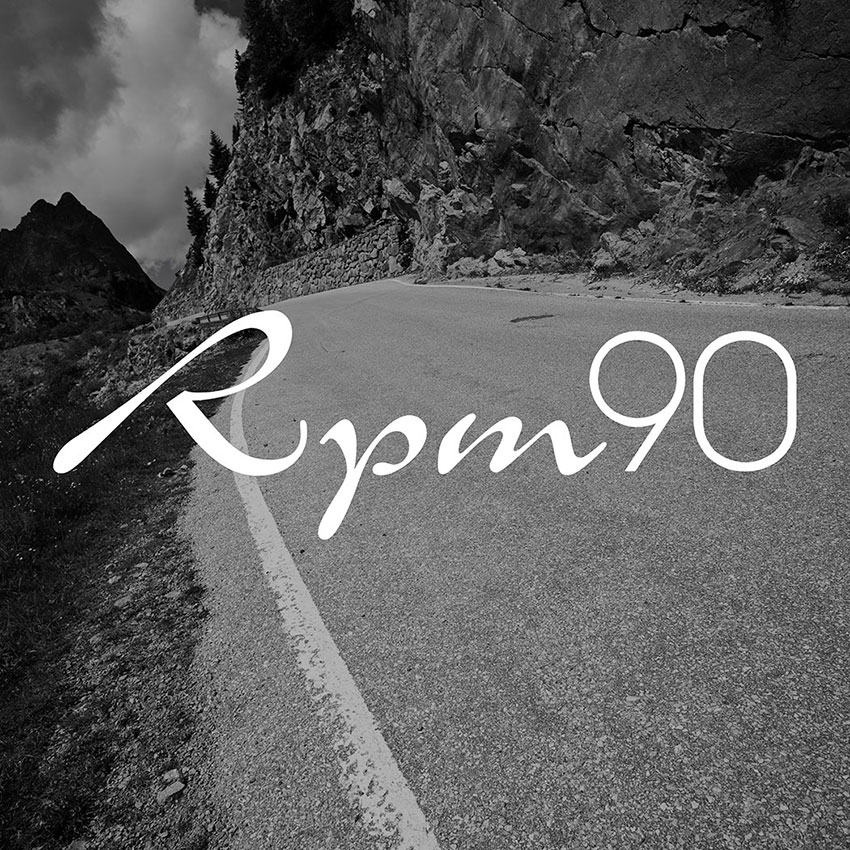Visual Identity & Brand Design for RPM90 Ultimate Cycling Tours