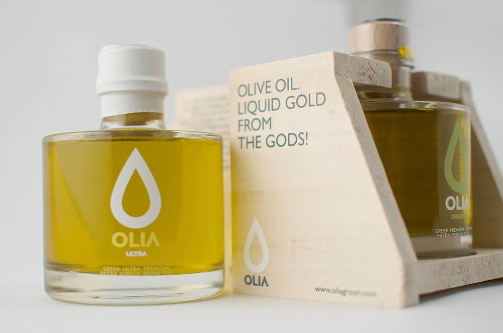 Olia Olive Oil Packaging | Unusual Design
