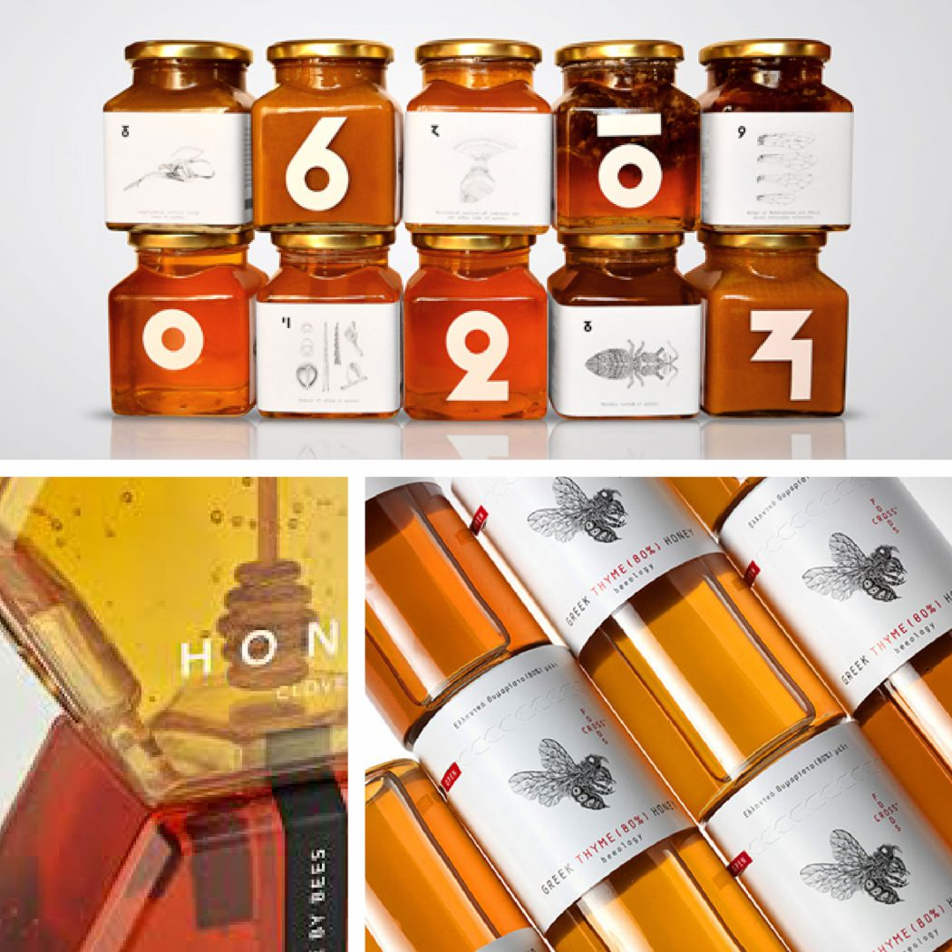 Honey Packaging Design Featured image.