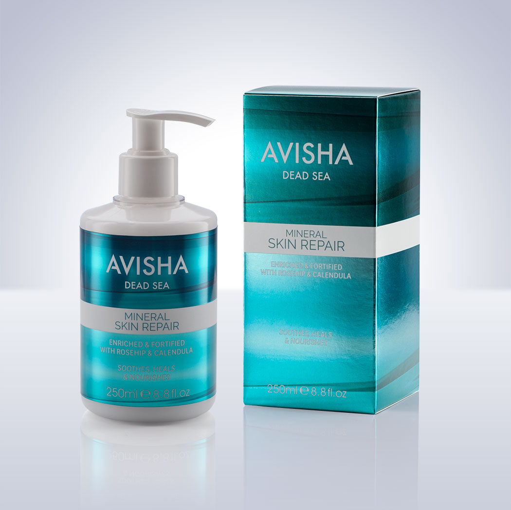 Body Care Packaging Design For Avisha Dead Sea.